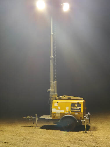 PR Premium has 8KW light towers available any time of year for anywhere in Western Canada